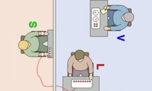 aufbau-milgram-experiment